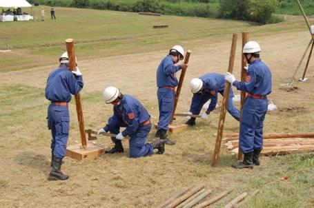 江戸川水防事務組合水防訓練